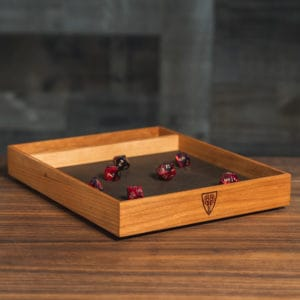 Cherry Tabletop Dice Tray