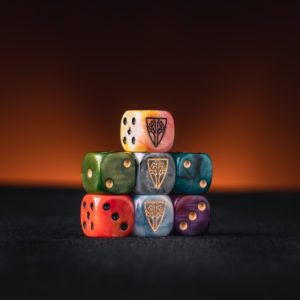 Wyrmwood Logo Dice Set