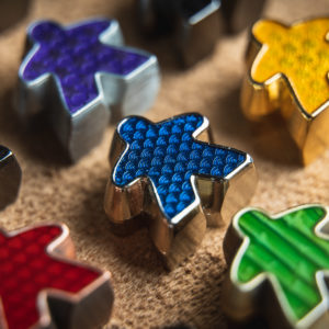 Deluxe Metal Meeples