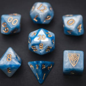 Nimbus Wyrmwood RPG Dice Set