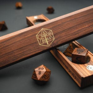 Critical Role: Dice Vault – Bolivian Rosewood