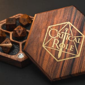 Critical Role: Tabletop Vault – Bolivian Rosewood